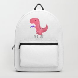 Tea-Rex | Pink Backpack