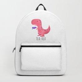 Tea-Rex | Pink Backpack