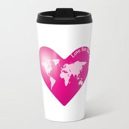 Love for the Earth_P Travel Mug