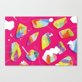 to go pleasantly  Canvas Print