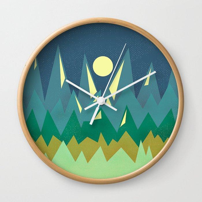 Textures/Abstract 109 Wall Clock
