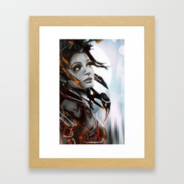 Human Framed Art Print