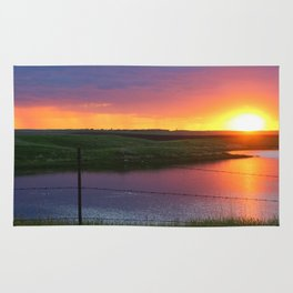 North Dakota Sunset Rug
