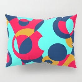 Colorful Funky Bottle Shapes III Pillow Sham