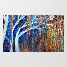 Weeping willow Rug