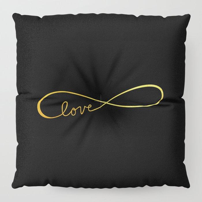 Infinite Love Floor Pillow