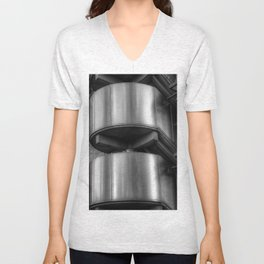 Lloyds Building, London Unisex V-Neck