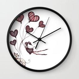 Spreading Love pt.2 Wall Clock