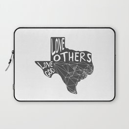 Love God, Love Others Laptop Sleeve