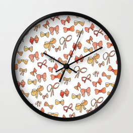 Bows Wall Clock