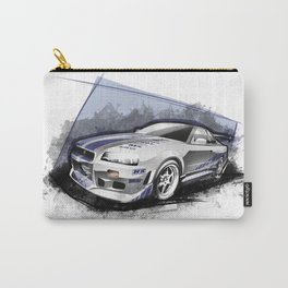 Brian's 1999 Nissan Skyline GT-R R34 (Fast and Furious Edition #3) Carry-All Pouch