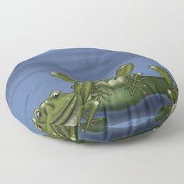 Frog Pond  Floor Pillow
