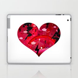 BIG HEART Laptop & iPad Skin