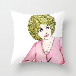 Workin' Throw Pillow