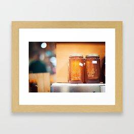 Hey Honey Framed Art Print