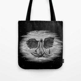Archangel , Angel Uriel Tote Bag