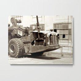 Industrial Rest Metal Print