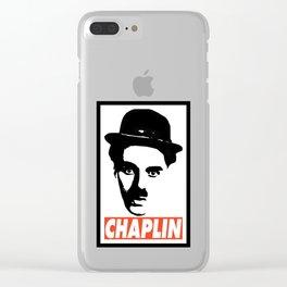 CHAPLIN Clear iPhone Case