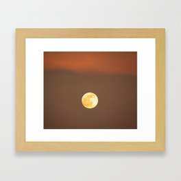 Awaiting the Winter Solstice  Framed Art Print