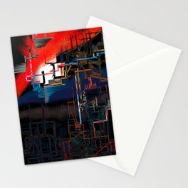 stage installation Stationery Cards