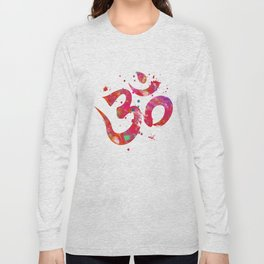 Colorful Om Symbol Long Sleeve T-shirt