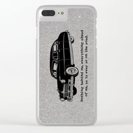 Jack Kerouac - On the Road - Hudson Car Clear iPhone Case