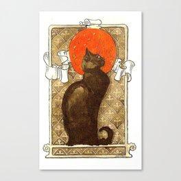 "Théophile Steinlen ""Cat"" Canvas Print"