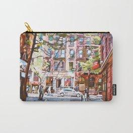 Minetta Lane, Greenwich Village Carry-All Pouch