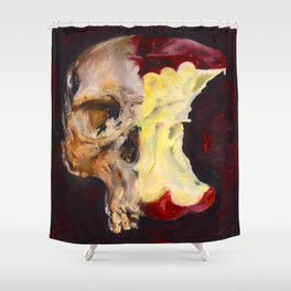 attention to sin Shower Curtain