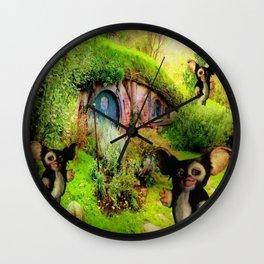 Casa De Gizmo Wall Clock