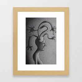 Black and White 4 Framed Art Print
