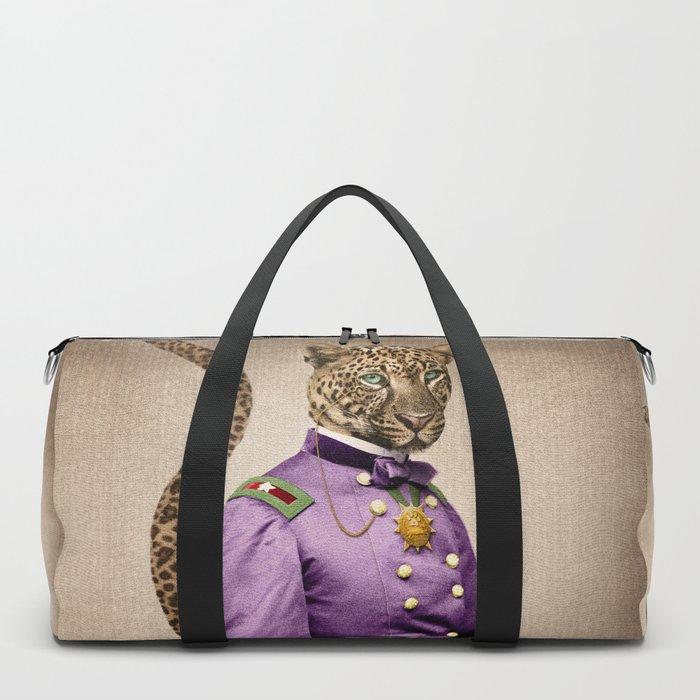 Grand Viceroy Leopold Leopard Duffle Bag