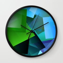 Leaves and light ... Wall Clock