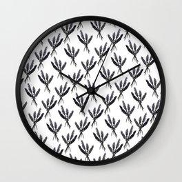 Lavender Pattern - Katrina Niswander Wall Clock