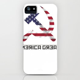 Make America Great Again iPhone Case
