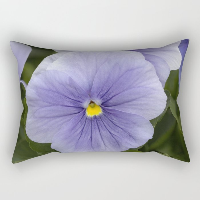 Pansy Mauve Rectangular Pillow