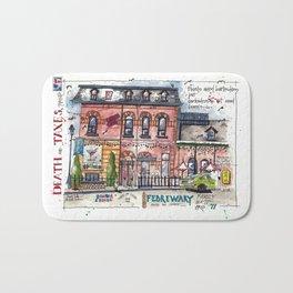 Death and Taxes - Toronto Bath Mat