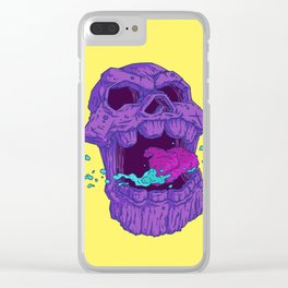 Skull of Thanos Clear iPhone Case