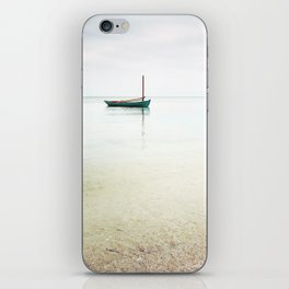 Moored / Beach Photography iPhone Skin