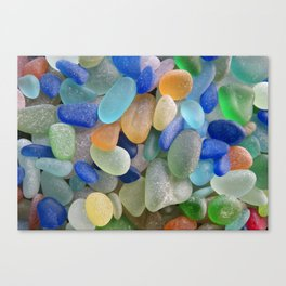 Sea Glass Bliss Canvas Print
