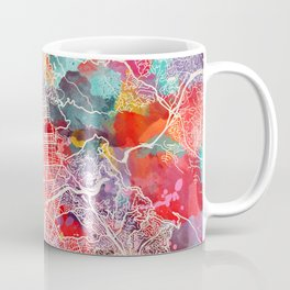 Berkeley map California painting 2 Coffee Mug