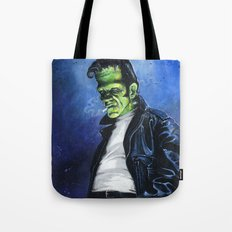 Rebel Frankenstein Tote Bag