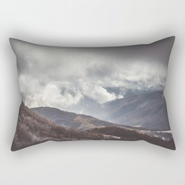 Waiting for the sun - Landscape and Nature Photography Rectangular Pillow