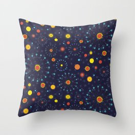 Solar Eclipse ~ Mystical Throw Pillow