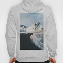 Iceland Mountain Beach - Landscape Photography Hoody