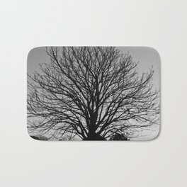 richmond park- b-w Bath Mat