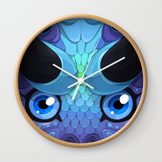 Lady Grey Wall Clock