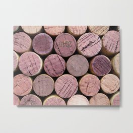 Corks, Light Metal Print