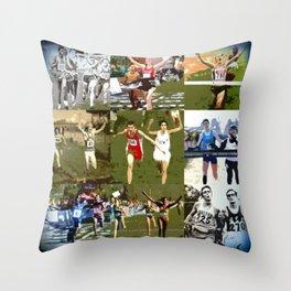 Just Finish - Poster Throw Pillow