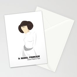 Rebel Princess  Stationery Cards